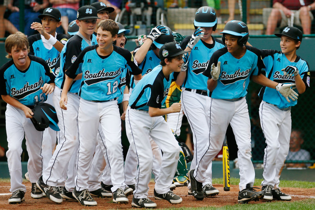 The Southeast Team from Goodlettsville, Tennessee at the 2012 Little League World Series (Rob Carr, Getty Images)