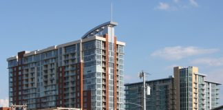 Condos and apartments in the Gulch. (Photo courtesy of Getty Images.)