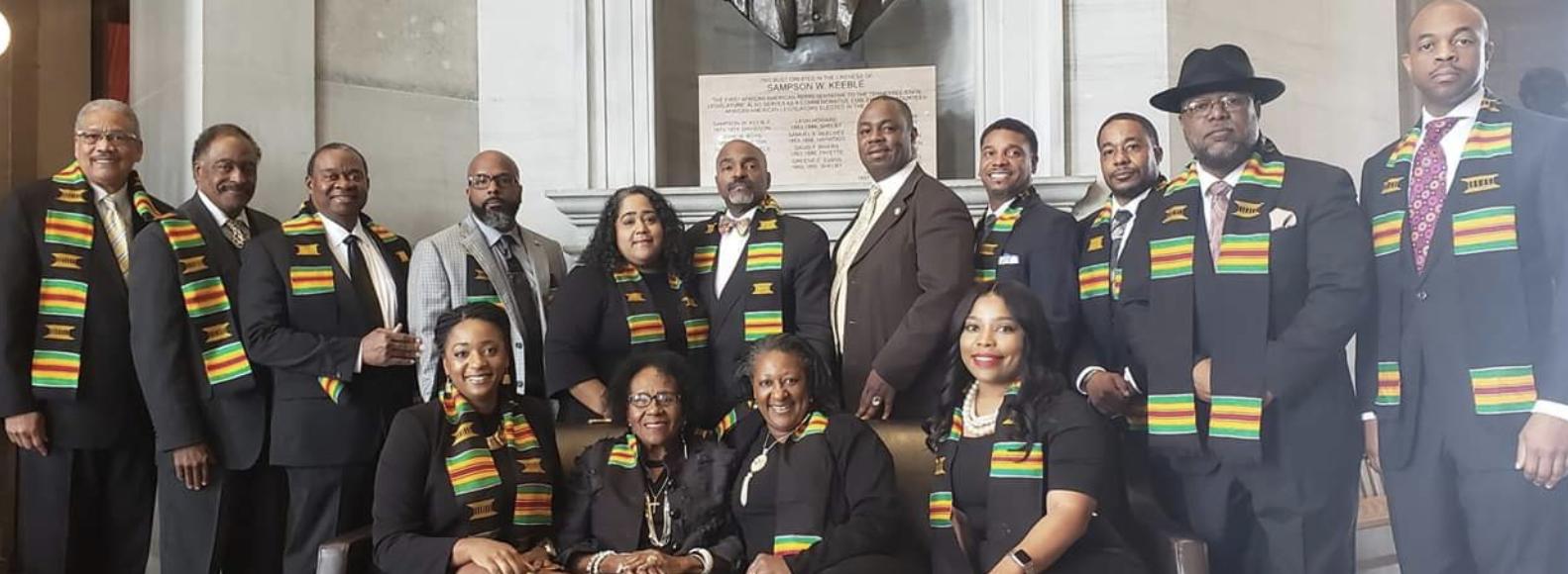 Tennessee Black Caucus for Legislators (Photo: Facebook)