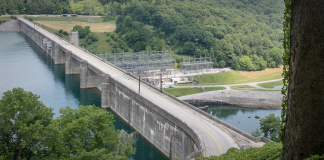 TVA Norris Dam in Anderson County (Photo: TVA website)