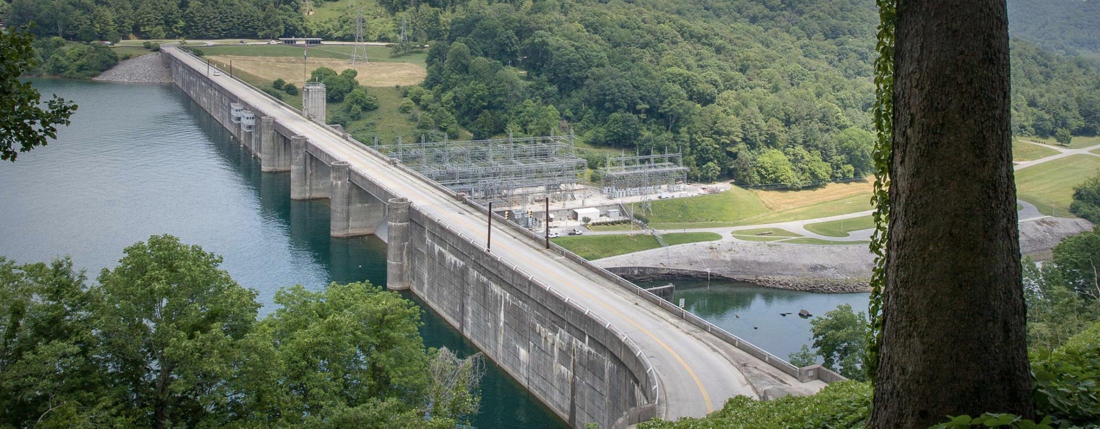 TVA Norris Dam in Anderson County (Photo: TVA website)