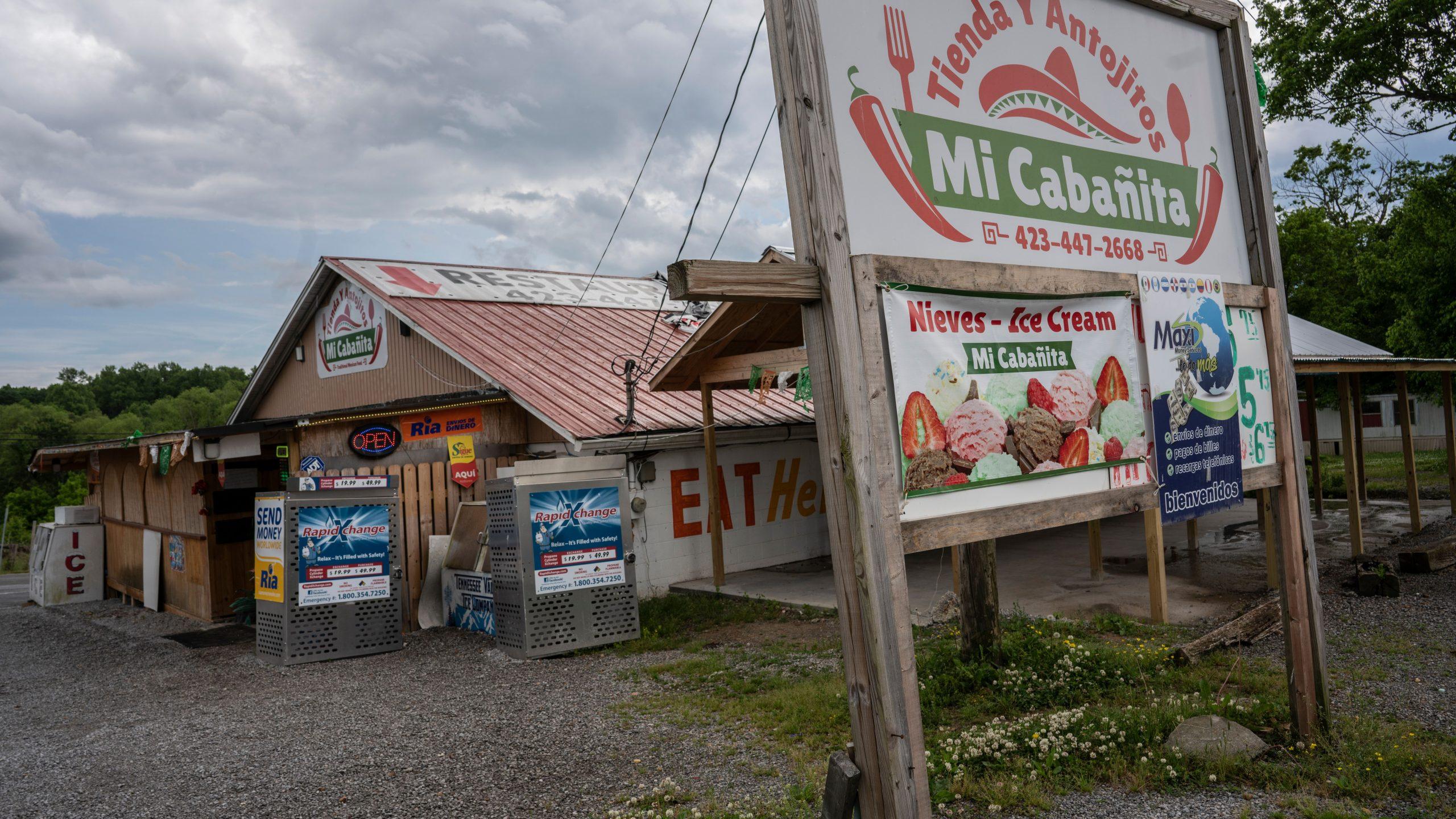 Mi Cabanita, a Rhea County Hispanic grocery and restaurant. (Photo: John Partipilo)