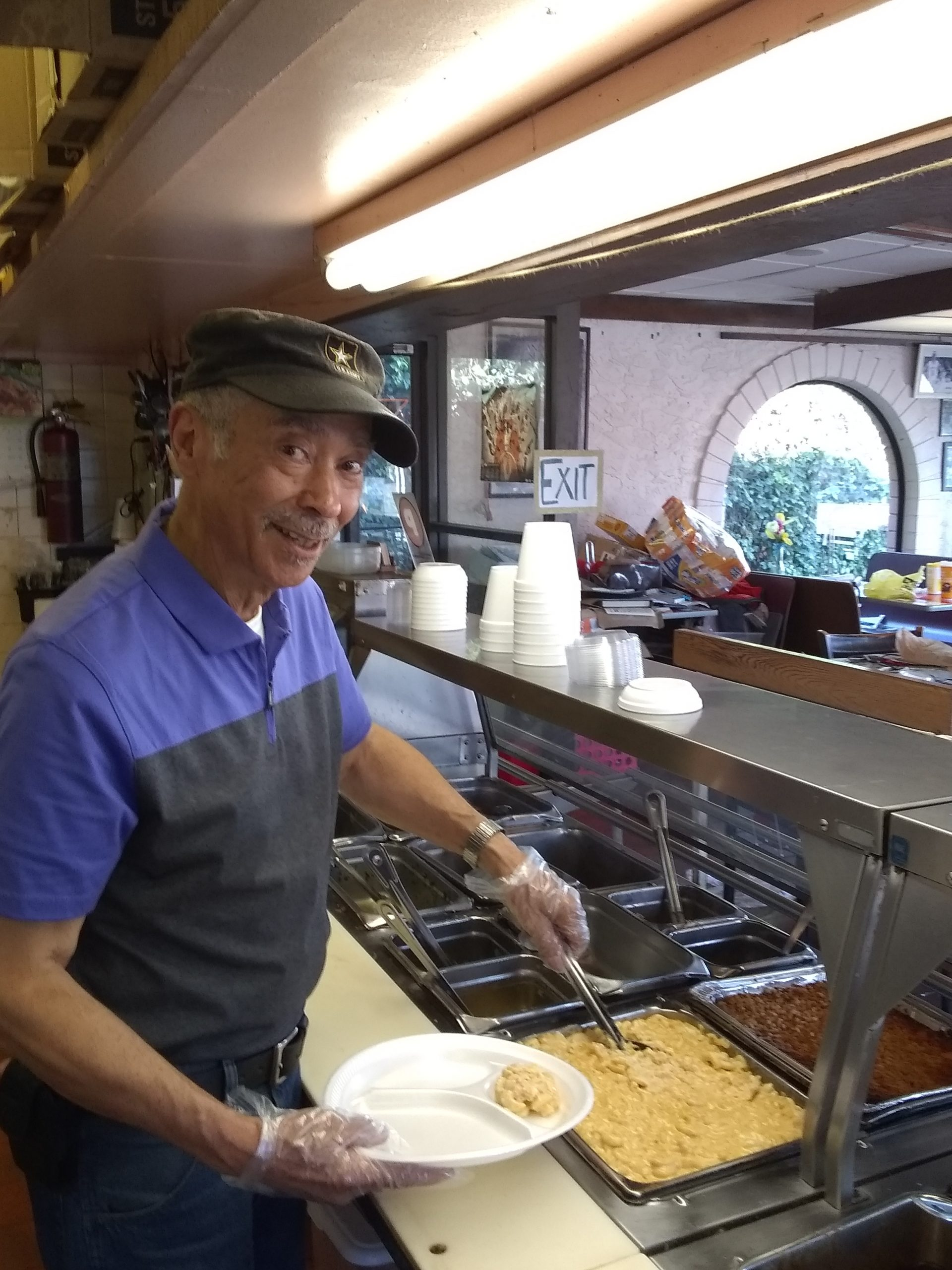 Charles Chandler opened his East Knoxville restaurant 10 years ago and it quickly became one of the top places for soul food in the city. (Photo: Anne Braly)
