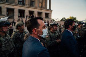 Nashville, Tenn., June 1 - State Rep. John Ray Clemmons (D-Nashville) at vigil. (Photo: Alex Kent)