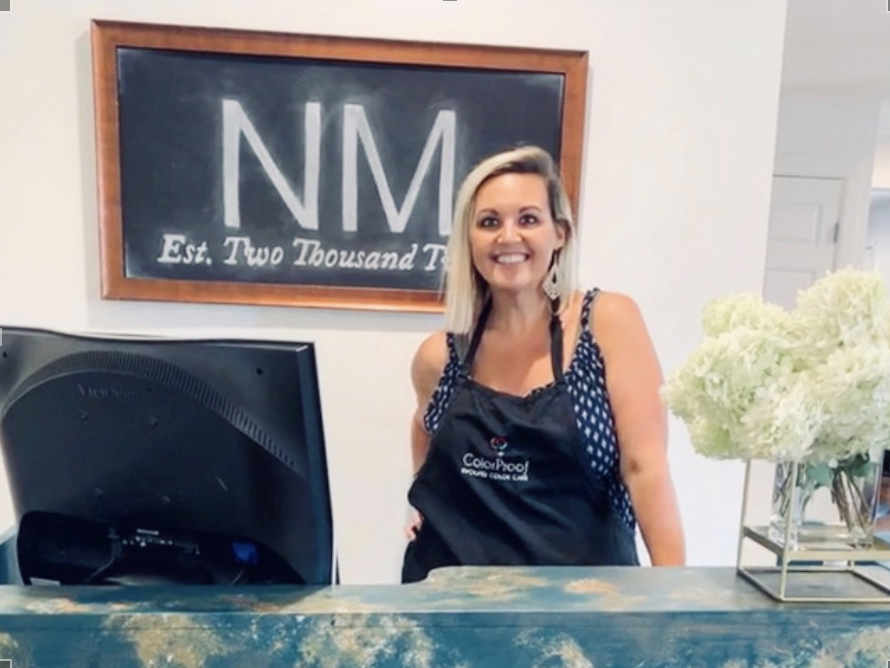 Nikki Wharton, owner of Nicole Marie Nashville salon in Donelson. (Photo: Submitted)