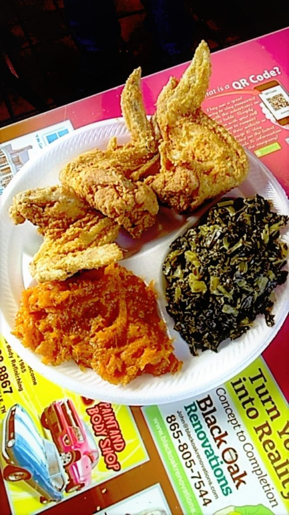 While wings are now one of the most-popular pieces of chicken, there was a time when they were once considered a lesser-cut of meat. Rather than throwing the wings away, they were given to slaves and are now on almost every soul food menu in the country. (Photo: Anne Braly)