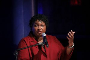 Former Georgia gubernatorial candidate Stacey Abrams. (Photo by Drew Angerer/Getty Images)