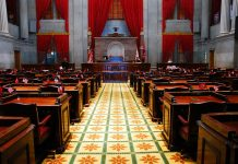 Tennessee House of Representatives Chambers (iStock Editorial/Getty Images)