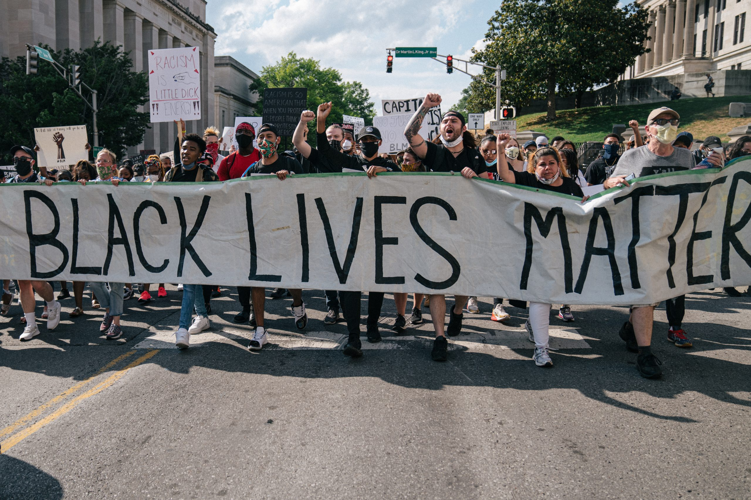 Nashville, Tenn., June 4- Black Lives Matter March (Photo: Alex Kent)