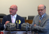 Marty Irby and Rep. Steve Cohen in 2019 at a Capitol Hill press conference on soring and the Prevent All Soring Tactics Act. Photo Credit: Animal Wellness Action