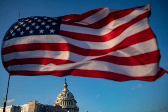 U.S. Capitol. (Photo by Samuel Corum/Getty Images)