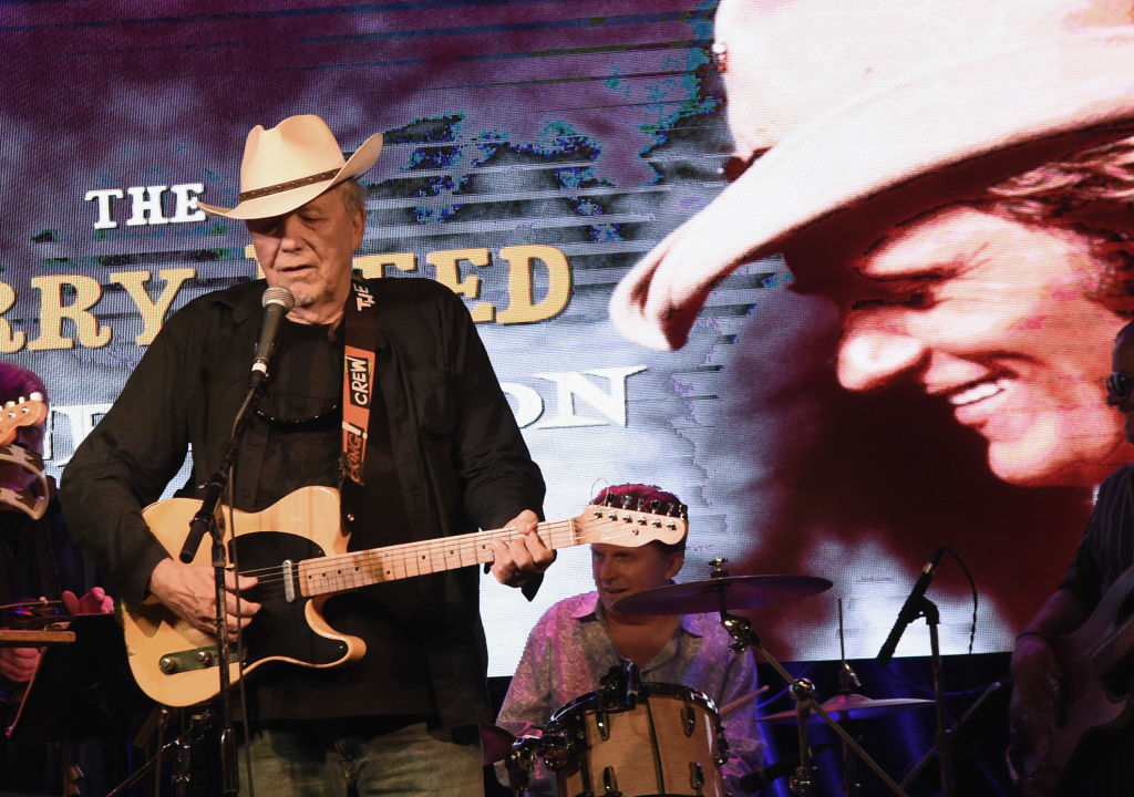 Singer/Songwriter Bobby Bare performs at The 6th Annual Jerry Reed Celebration at 3rd & Lindsley on September 21, 2017 in Nashville, Tennessee. (Photo by Rick Diamond/Getty Images)