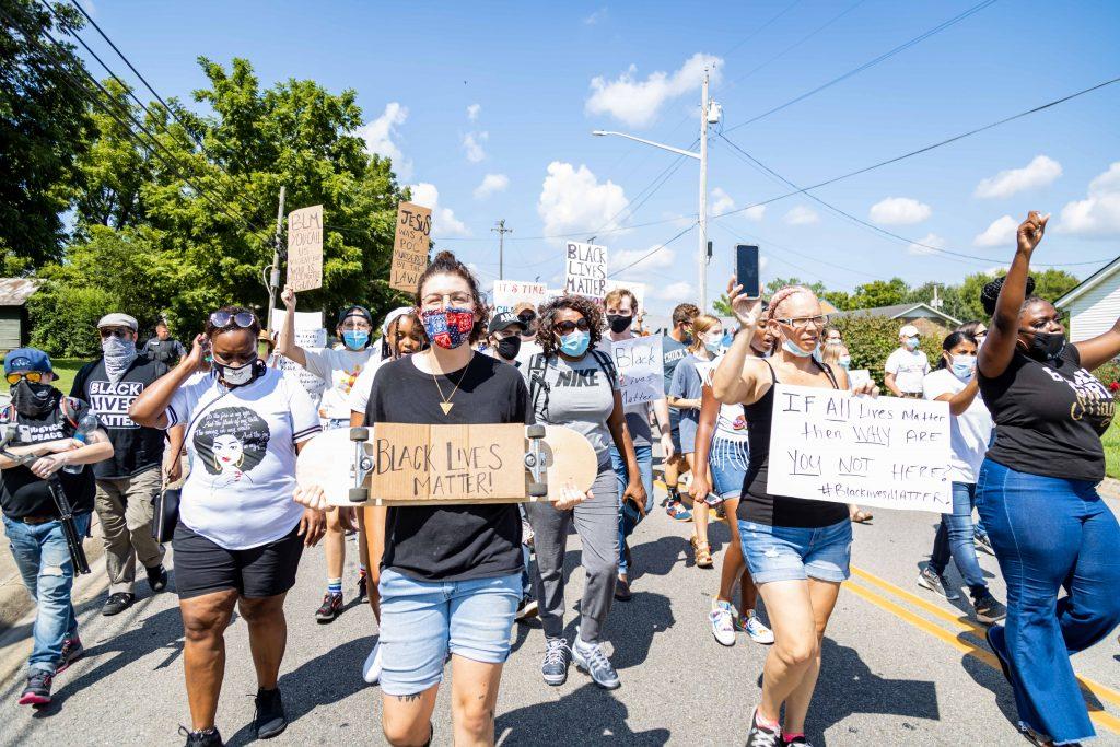 Equality March through Pulaski. (Photo: Jaymi Ray)