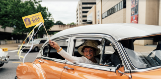 Nashville, Tenn., Aug. 18 - Celebration of the ratification of the 19th Amendment. (Photo: Alex Kent)