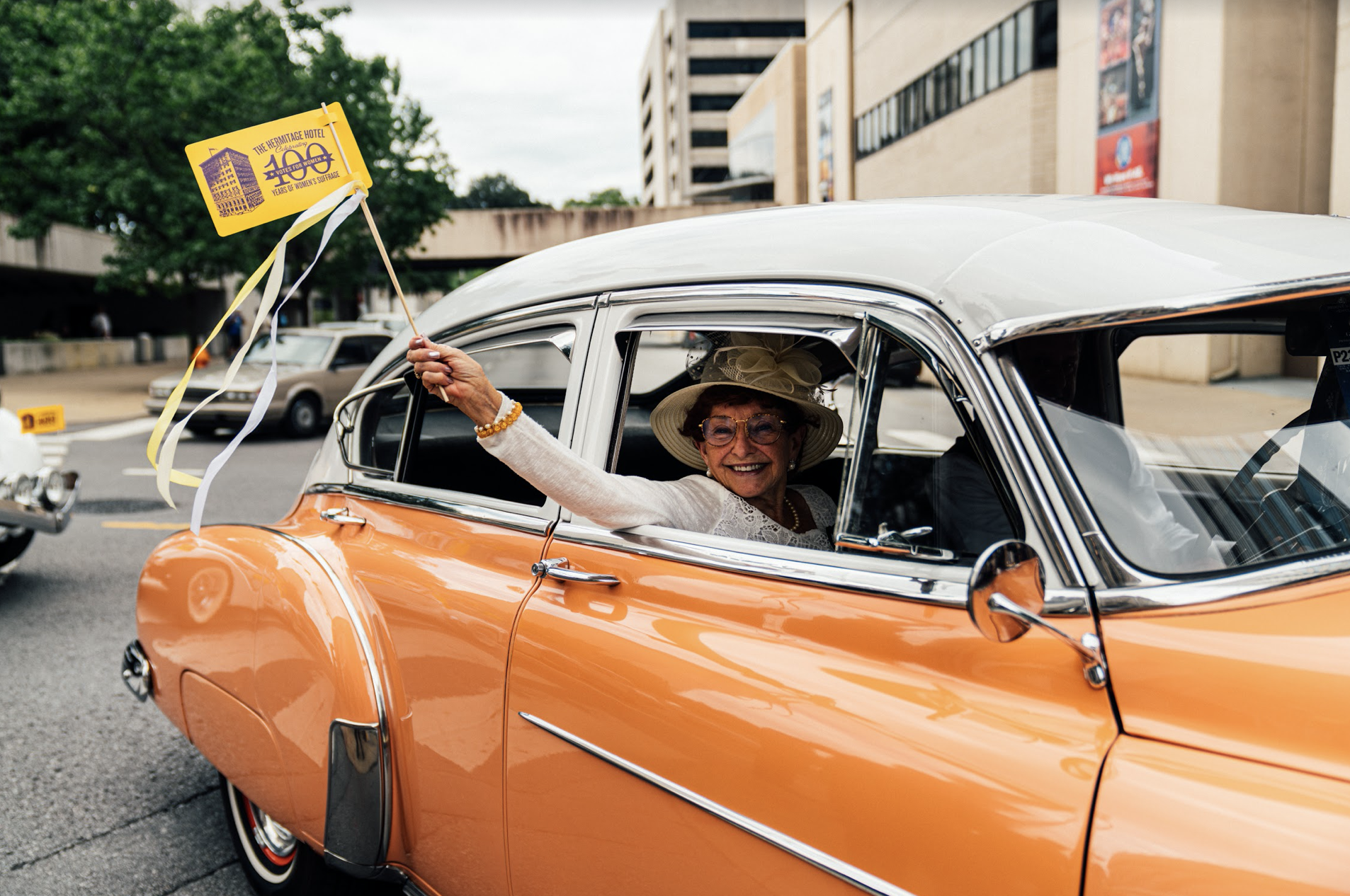 Nashville, Tenn., Aug. 18 - Celebration of the ratification of the 19th Amendment. (Photo: Alex Kent)