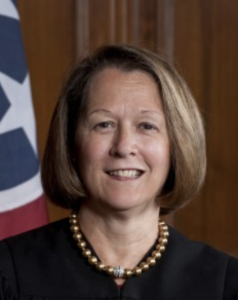 """Tennessee Supreme Court Justice Cornelia """"Connie"""" Clark (Photo tncourts.gov)"""