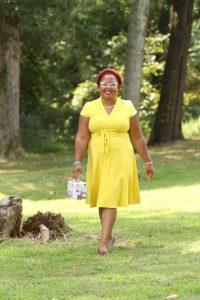 Marquita Bradshaw in Memphis on September 9, 2020.( Photo: © Karen Pulfer Focht)