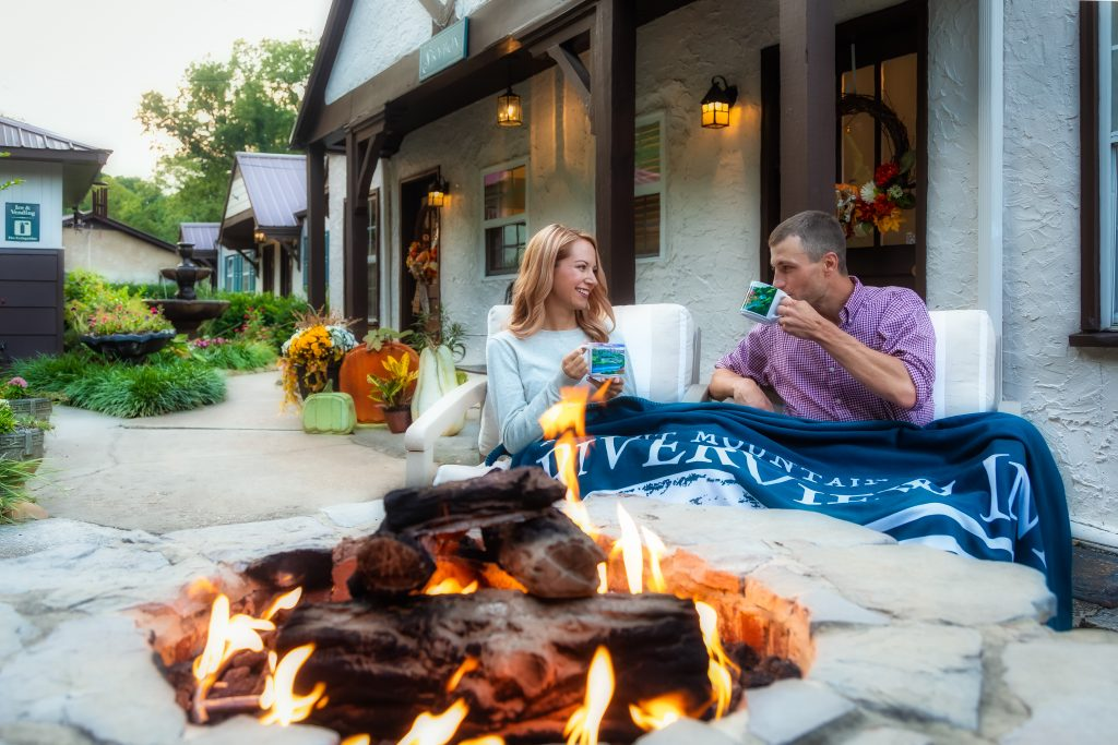A staycation at Riverview Inn on the side of Lookout Mountain can include making s'mores and enjoying a hot cup of coco by a roaring fire on an autumn evening. (Photo: Riverview Inn)