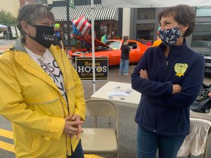 Renee Hoyos campaigning at a recent event, (Photo: Facebook)
