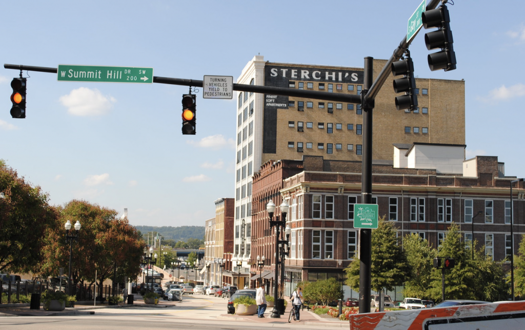 Downtown Knoxville (Photo: Deidre Woolard)