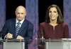 Democrat Mark Kelly is picked to beat incumbent Republican Martha McSally in the Arizona Senate Race. (Getty Images)