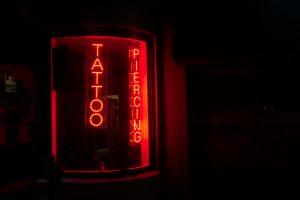 A sign at Tempest Tattoo in Dickson, Tenn. (Photo: Matt Bastin)