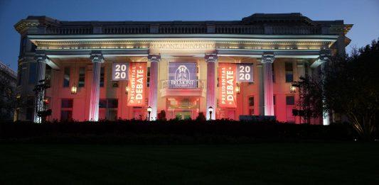 Nashville, Tenn., Oct. 22 - Belmont University, site of the second 2020 presidential debate. (Photo: Ray Di Pietro)