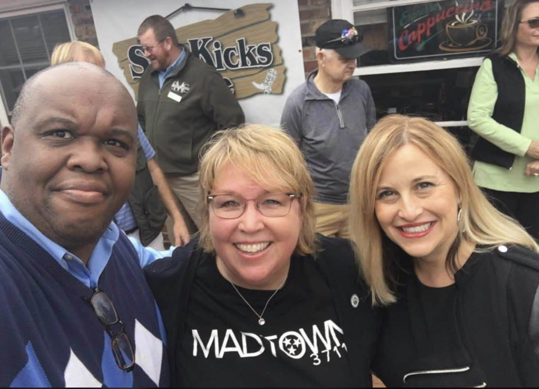 McMurry, Councilmember Nancy Vanreece, and former Mayor Megan Barry in an untitled photo. (Photo: Facebook)