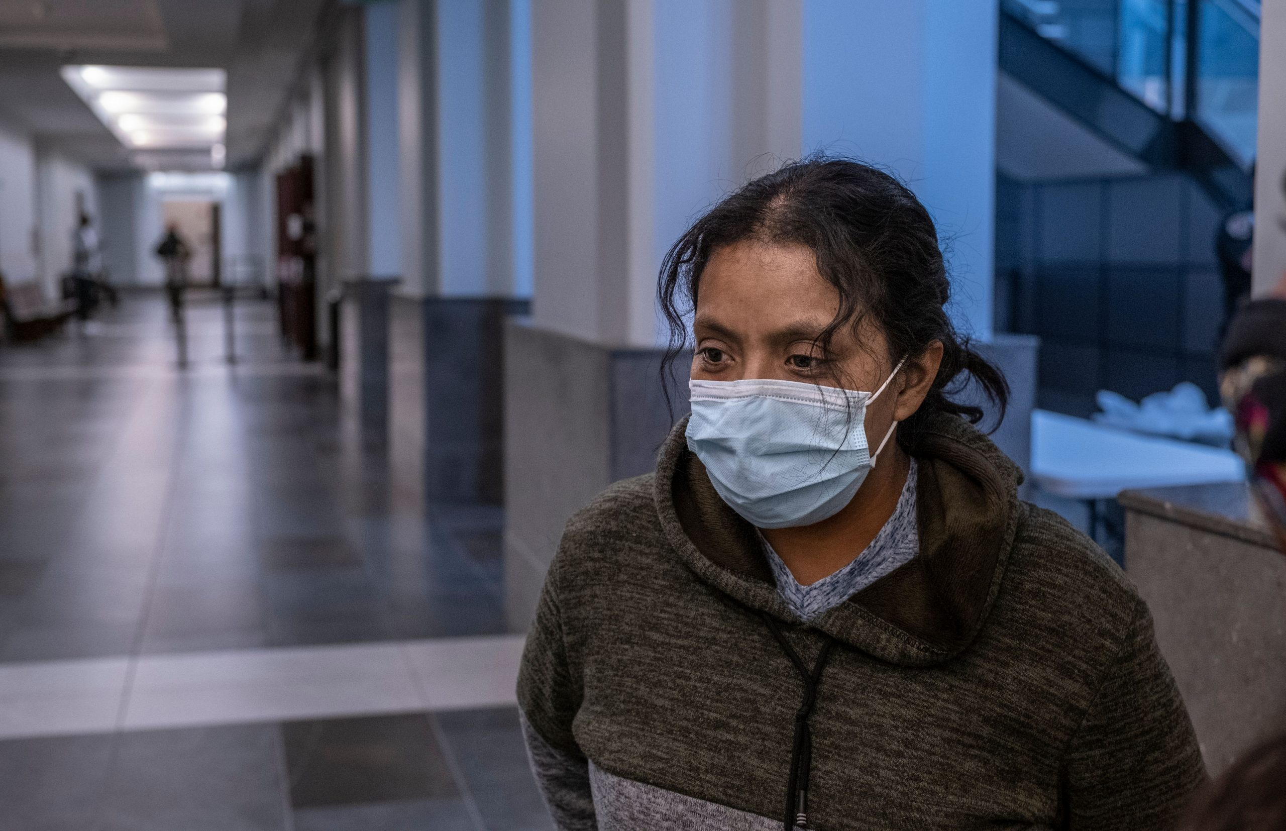 Maria Hernandez awaits a decision on her eviction case. Hernandez is one of thousands of Tennesseans who face eviction after a federal moratorium ends Jan. 31, 2021. (Photo: John Partipilo)