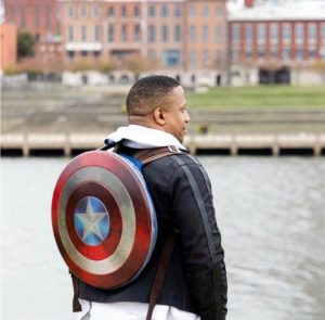 "Jerome Hardaway, founder of Vets Code, is a called the ""Captain America of Coding."" (Photo: submitted)"