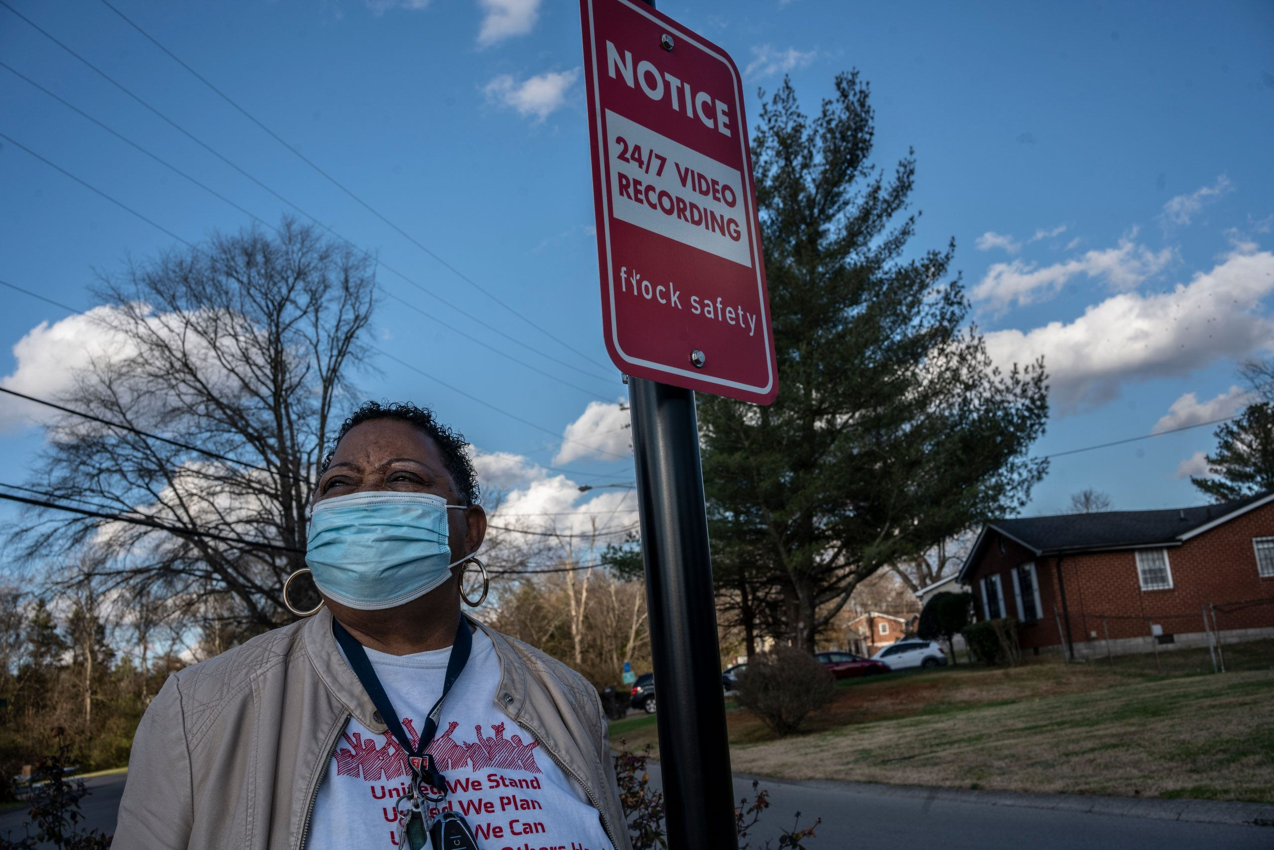 Gina Coleman has lived in Haynes Park for 39 years and she and neighbors raised $4,500 for 2 security cameras in the neighborhood. (Photo: John Partipilo)
