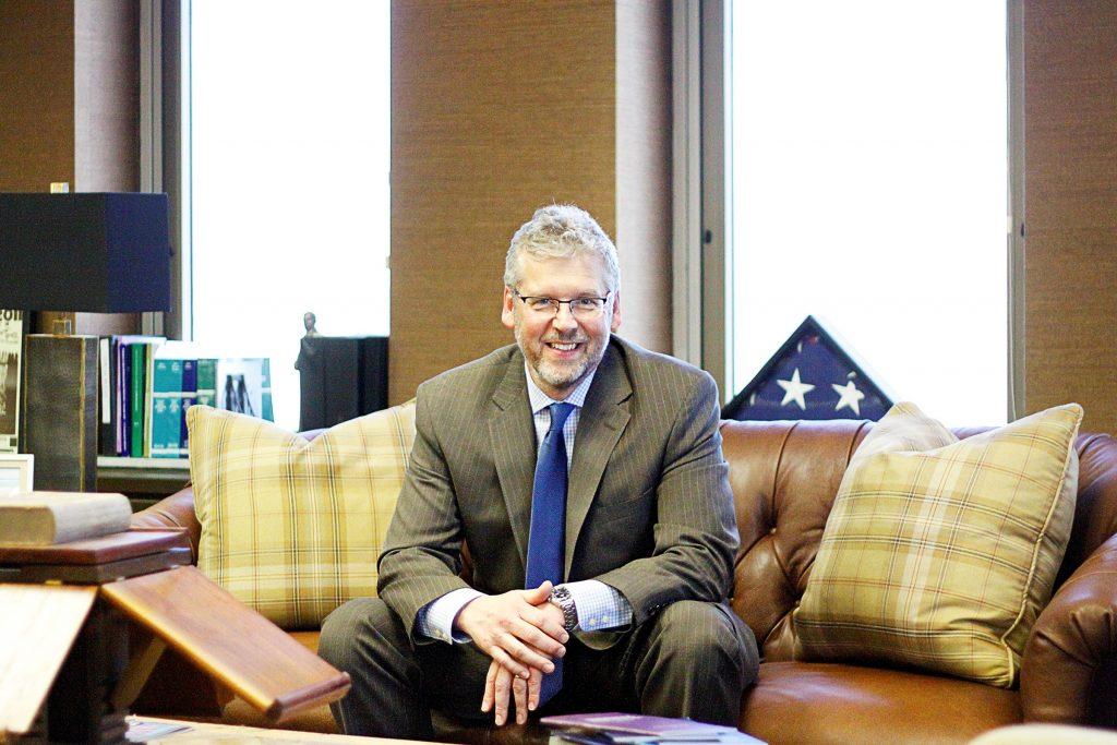 Kevin Sharp in the Nashville office of Sanford Heisler Sharp, at which he serves as managing partner. (Photo:Kevin Sharp)