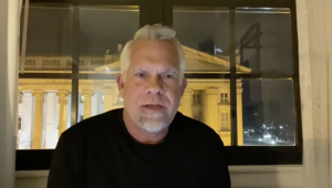 A screen capture from a video posted by Steve Berger on Facebook. Berger is founder of and pastor at Grace Chapel in Williamson County, which counts Gov. Bill Lee and Tennessee Senate Majority Leader Jack Johnson among its members.