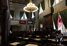Tennessee Senate Chambers (Photo: Tennessee Secretary of State)