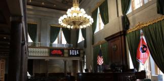 Tennessee Senate Chambers (Photo: Tennessee Secretary of State)
