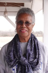 Joyce Christian of Somerville, Tennessee is a retired nurse who wants to encourage people in the African American community to take the Covid-19 vaccine. Her father, was unknowingly a part of the Tuskegee syphilis study. What happened to her father, led to the establishment of biomedical ethics committees. These committees were established to set ethical criteria to ensure what happened to her fathers would not happen again. (Photo by © Karen Pulfer Focht)