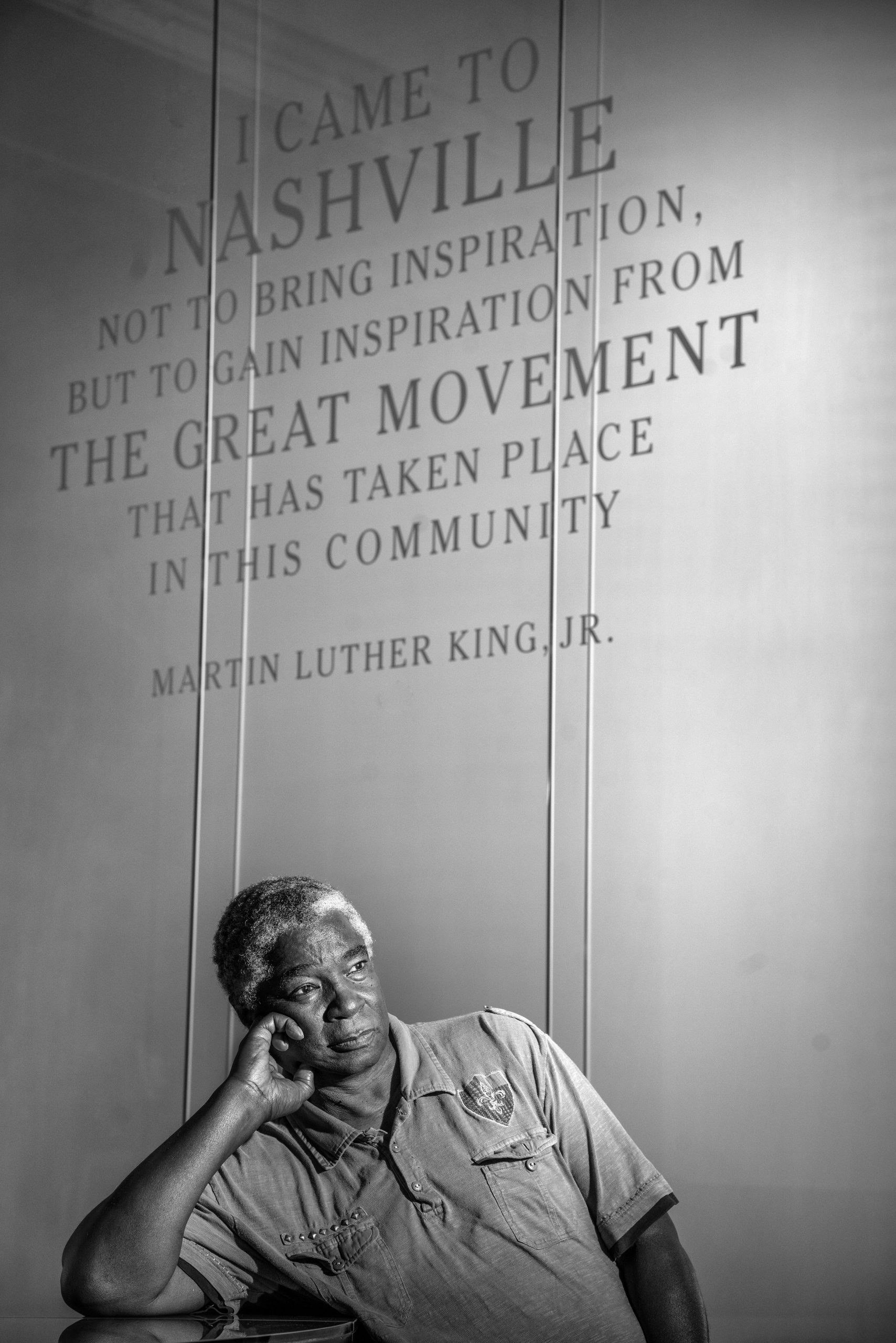 Frederick Leonard's nature vacillated between the non-violent teachings of Rev. Martin Luther King, Jr. and Rev. James Lawson and a desire to fight back. (Photo: John Partipilo)