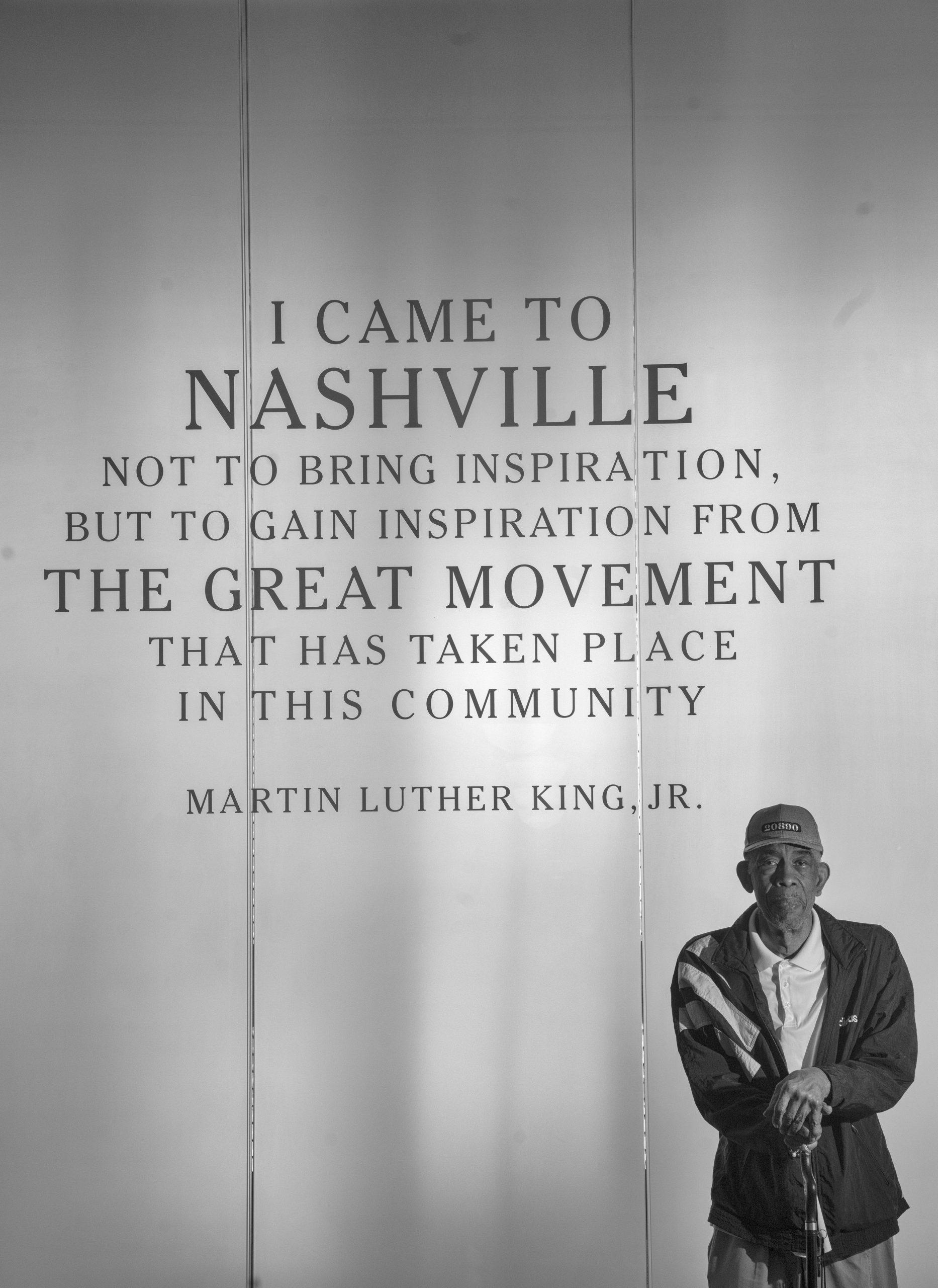 "Ernest ""Rip"" Patton inside the Nashville Public Library's Civil Rights Room. (Photo: John Partipilo)"