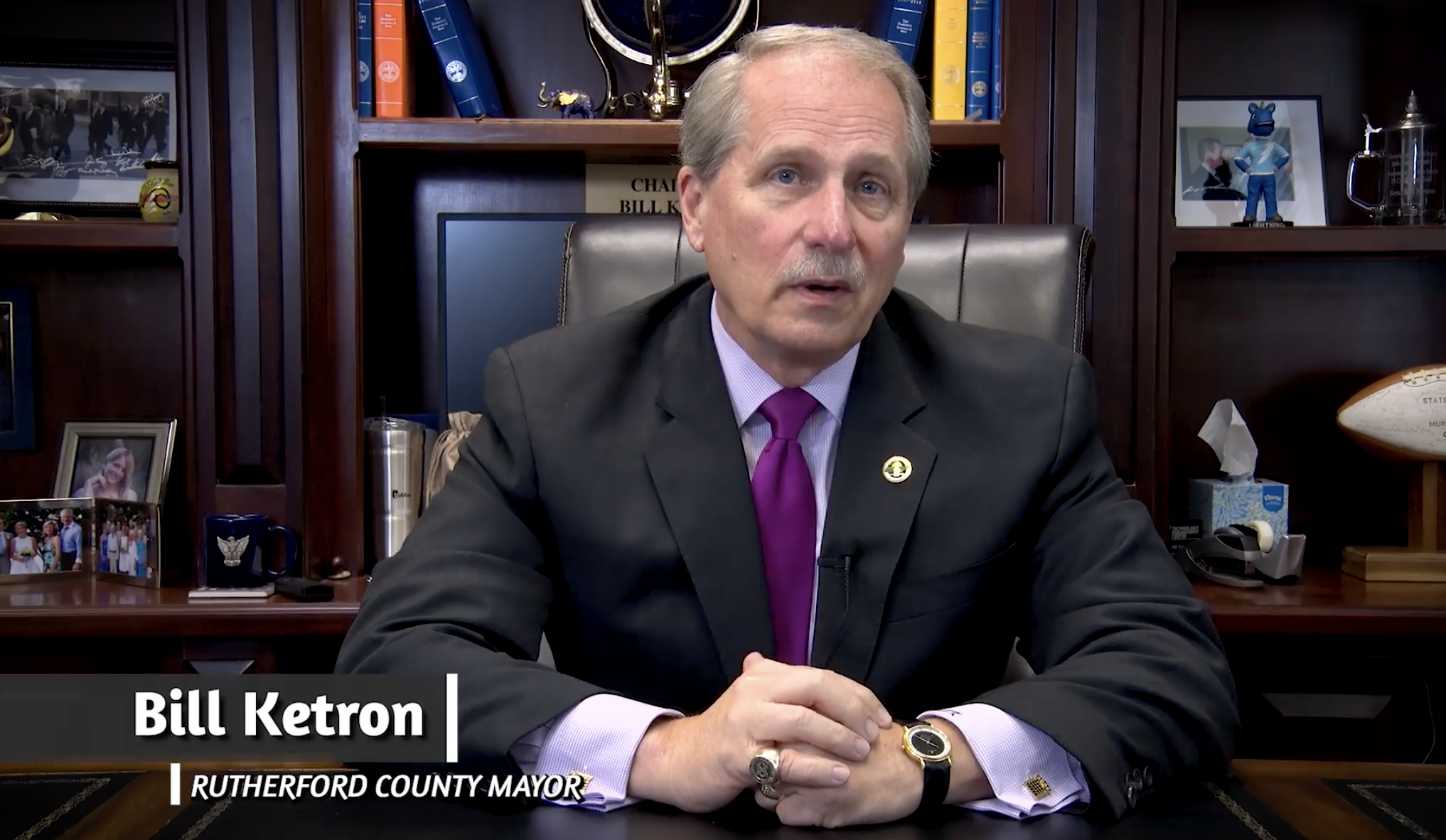 Election board levies $135,000 penalty on Rutherford County Mayor Ketron