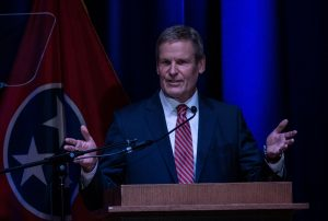 Gov. Bill Lee delivers his third State of the State on Feb. 8, 2021. (Photo: John Partipilo)