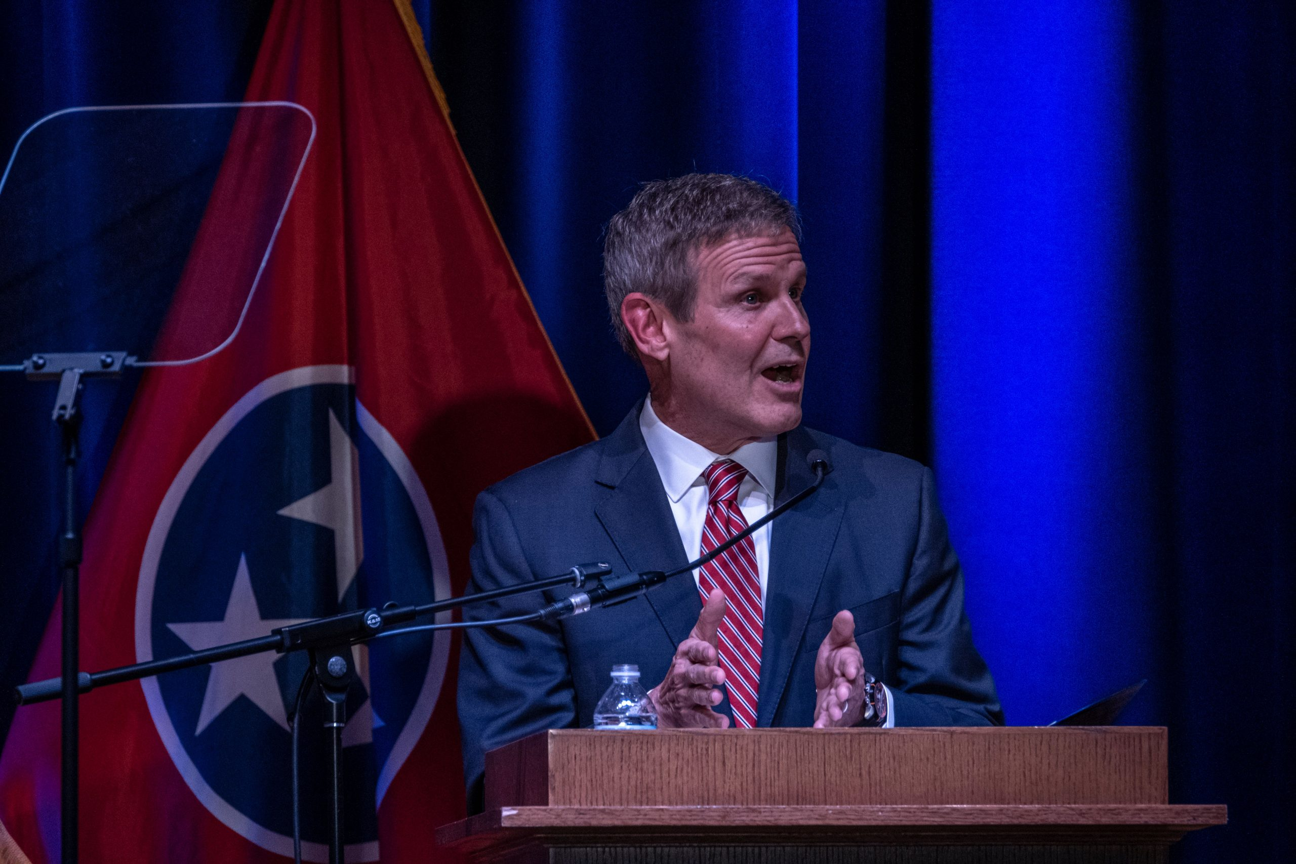Gov. Bill Lee has stood by an experimental health care block grant approved by the Trump Administration. (Photo: John Partipilo)