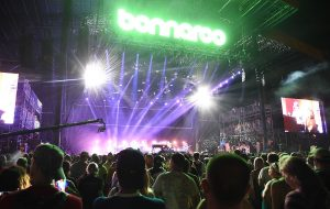 A view of atmosphere during the Billy Joel performance at the 2015 Bonnaroo Music & Arts Festival - Day 4 on June 14, 2015 in Manchester, Tennessee. (Photo by Jason Merritt/Getty Images)