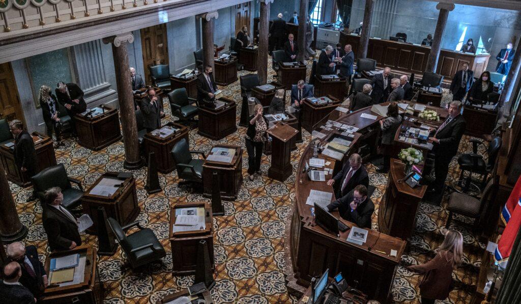 The Tennessee Senate Chambers. (Photo: John Partipilo)