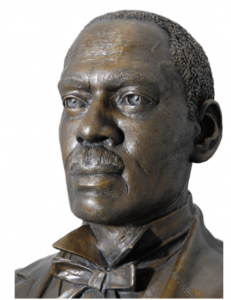 A bust of Tennessee's first Black legislator, Sampson Keeble, sits in the Tennessee Capitol but has garnered less attention than another bust. (Photo: tn.gov)