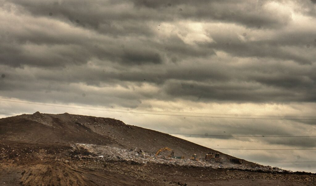 The landfill operated by Waste Management in northwest Davidson County. (Photo: John Partipilo)