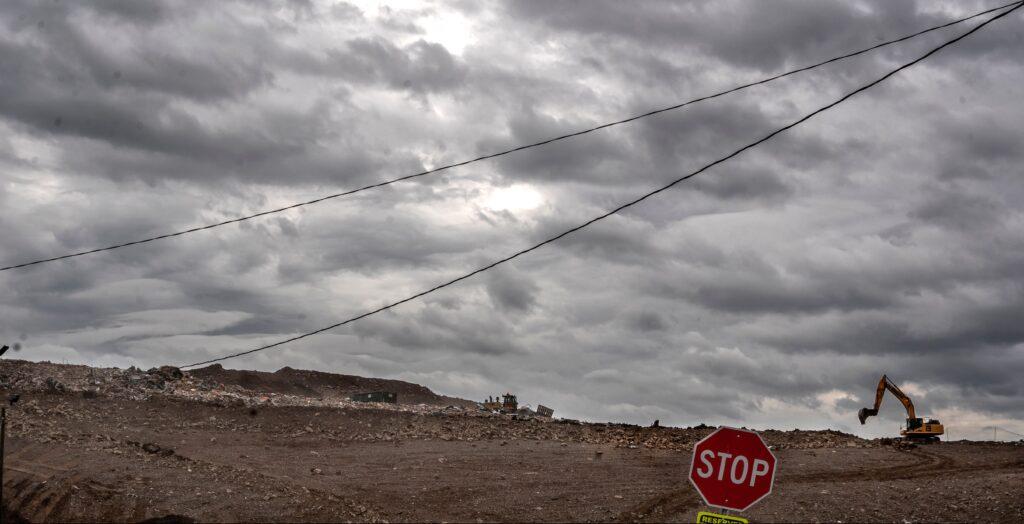 Southern Services Landfill in Nashville's Bordeaux community. (Photo: John Partipilo)