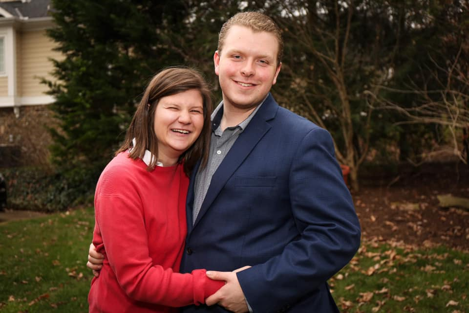 Molly Anderson, with husband Joshua, has advocated that text-to-911 be available in every Tennessee county. (Photo: Submitted)