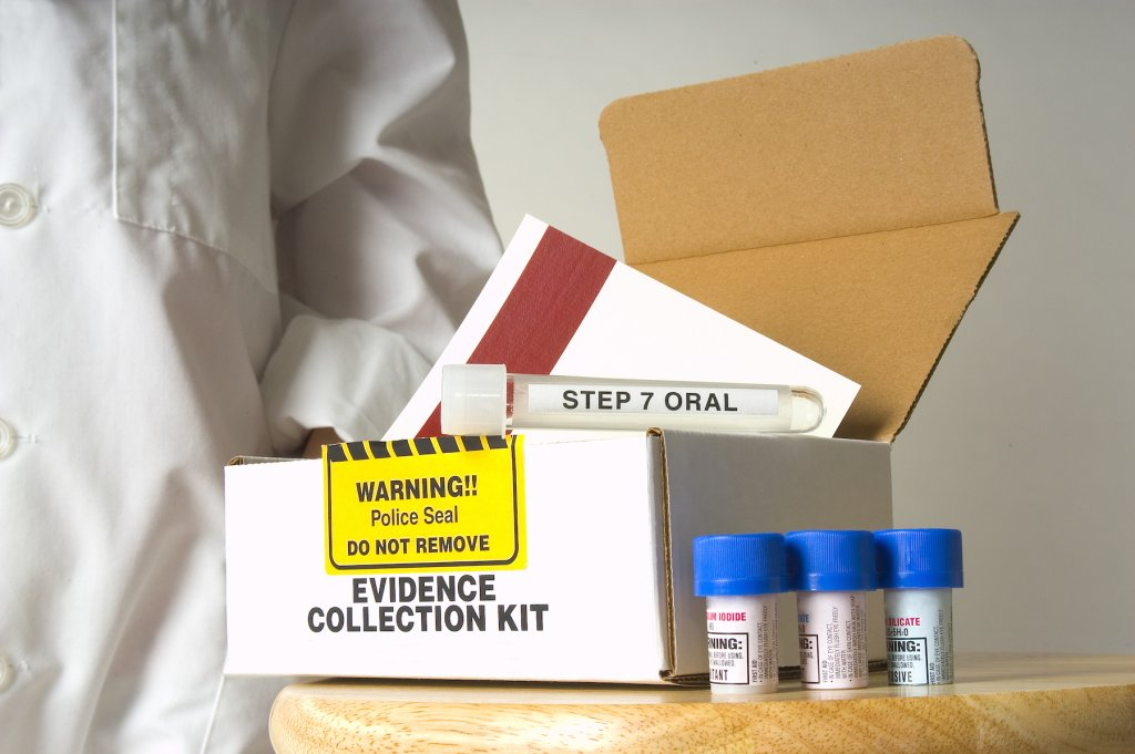 Evidence collection kit. (Photo: Getty Images)