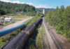 Train cars loaded with coal sit on the tracks at a Blackjewel mining operation on August 22, 2019 in Cumberland, Kentucky. A group of coal miners blockaded the tracks and prevented the train from leaving the mine after Blackjewel filed for bankruptcy, ceased operation and payed the miners their final pay with bad checks. The shutdown left more than 300 miners in Harlan County with no jobs and owed payment for three weeks of work. (Photo by Scott Olson/Getty Images)