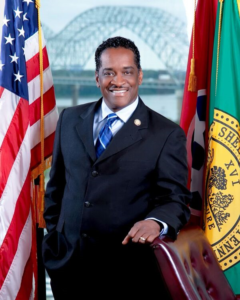 Eddie Jones, chair, Shelby County Board of Commissioners (Photo: Shelbycountytn.gov)